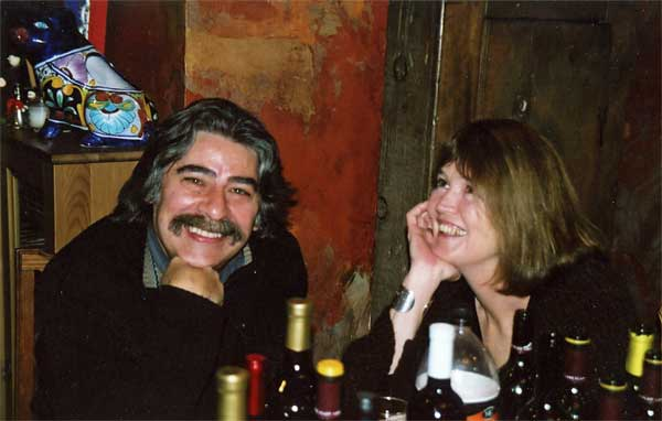 With Juan, New Year's 2005