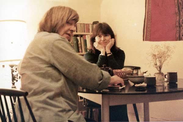 In Elizabeth Smart's apartment, 1983